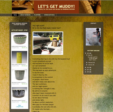 Let's Get Muddy website image